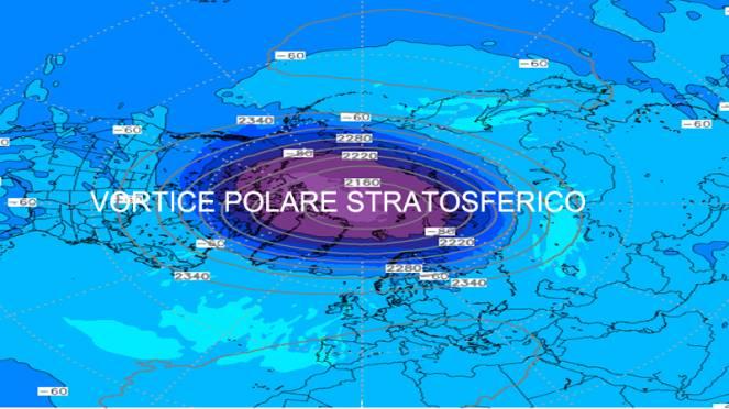 vortice polare stratosferico