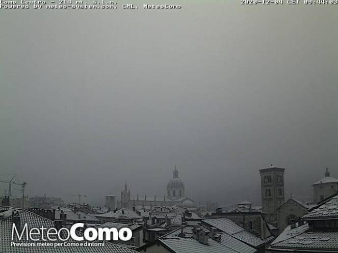 Webcam Como neve