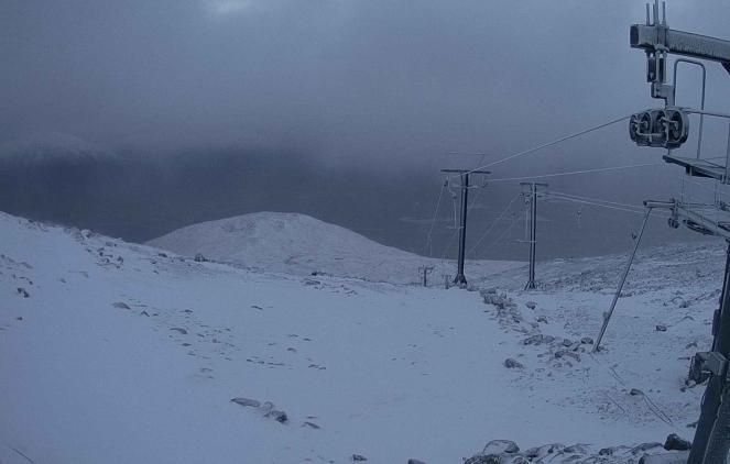 Webcam dal Glencoe Mountain Resort, mercoledì 16/1/19