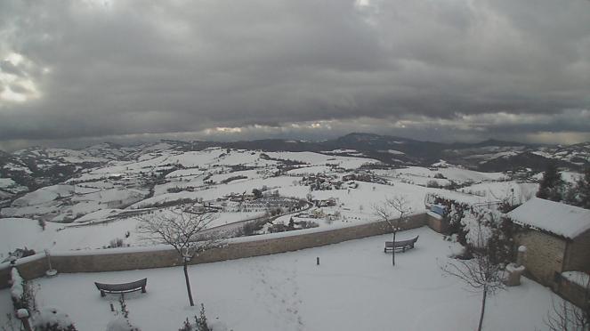 Webcam neve campagna ascolana