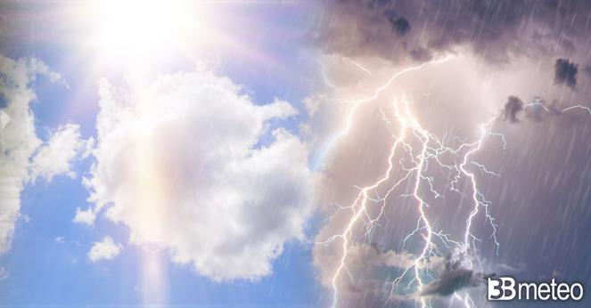 Weekend 1 maggio tra forti temporali e caldo africano