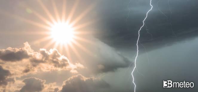Weekend 10-11 luglio, permane il rischio di qualche temporale