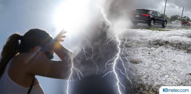 Weekend a rischio condizioni estreme tra forti temporali e caldo africano