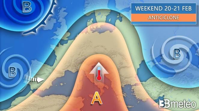 Weekend arriva l'anticiclone africano