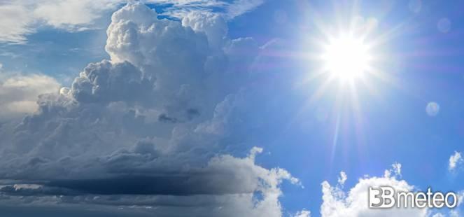 Weekend tra caldo intenso e locali forti temporali
