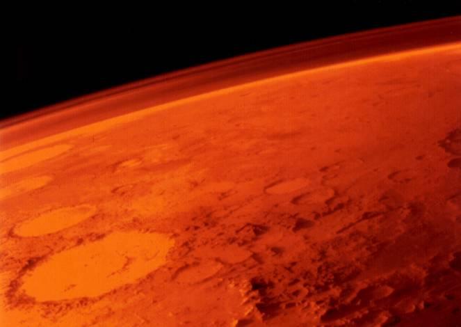 Zoom sul pianeta Marte