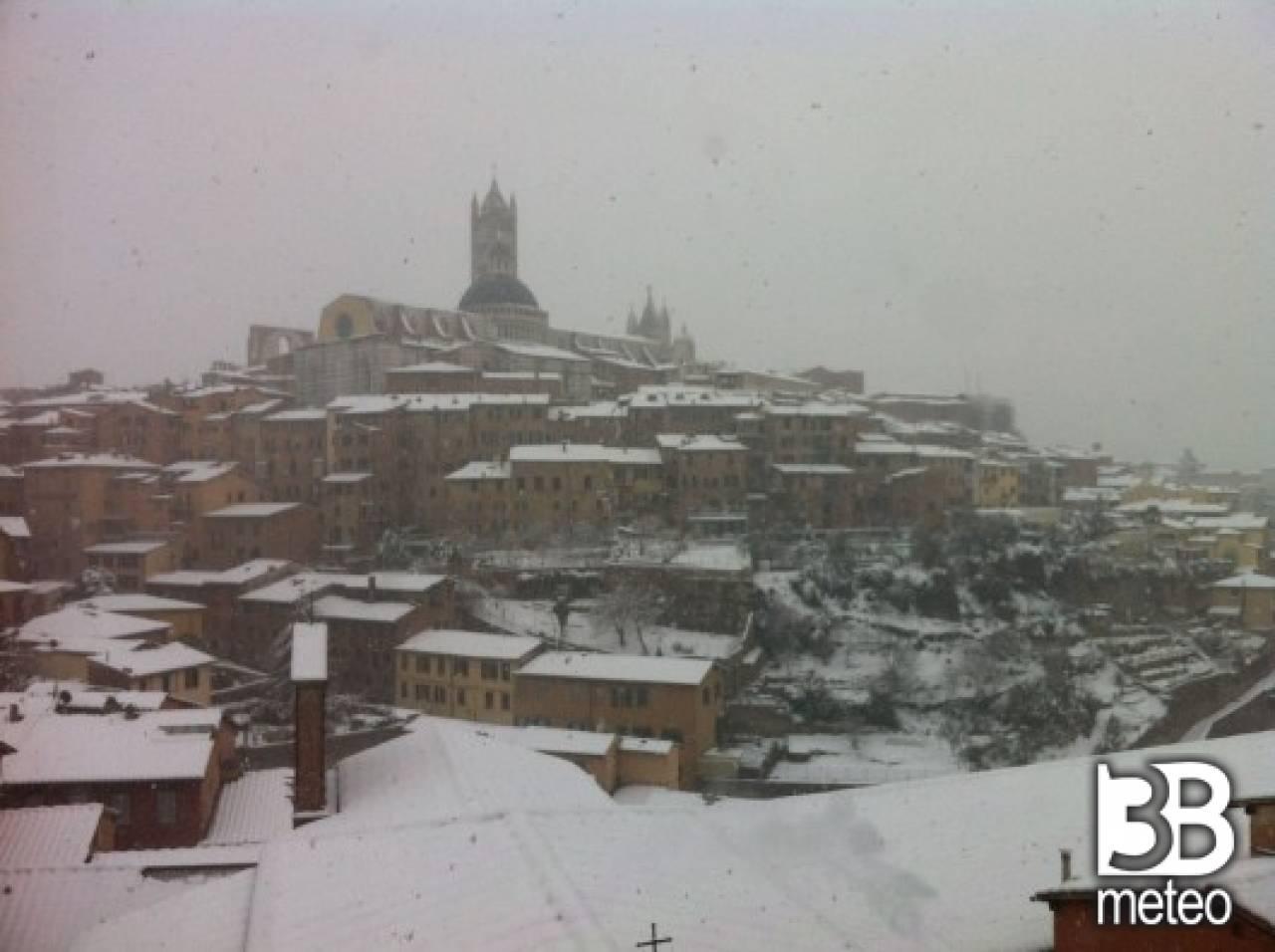 Meteo siena rovesci di neve gioved poi maltempo con pioggia 3b meteo - 3b meteo bagno di romagna ...