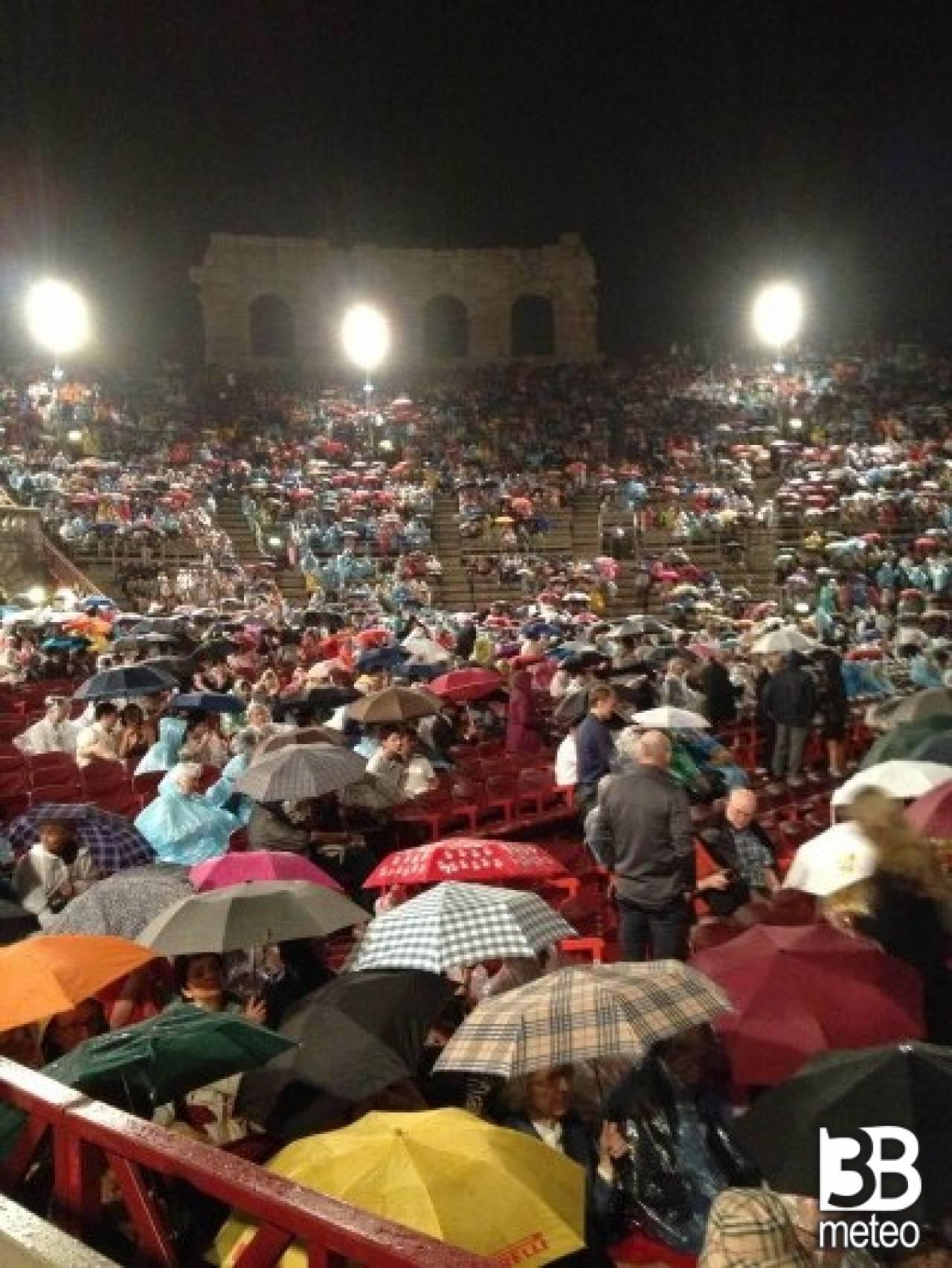 Meteo Verona: qualche possibile rovescio martedì ...