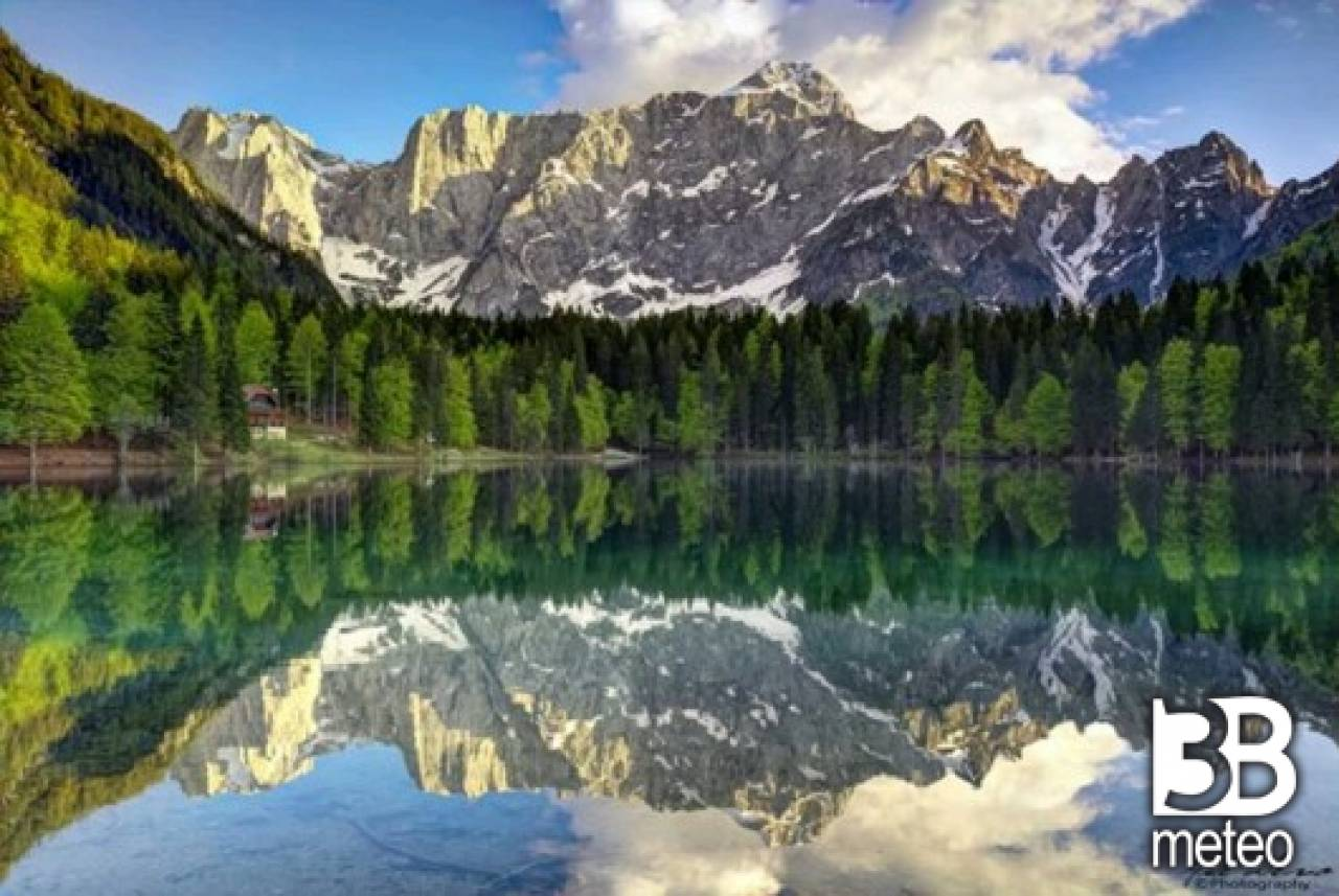 Laghi di fusine in val romana foto gallery 3b meteo for Disegni di laghi