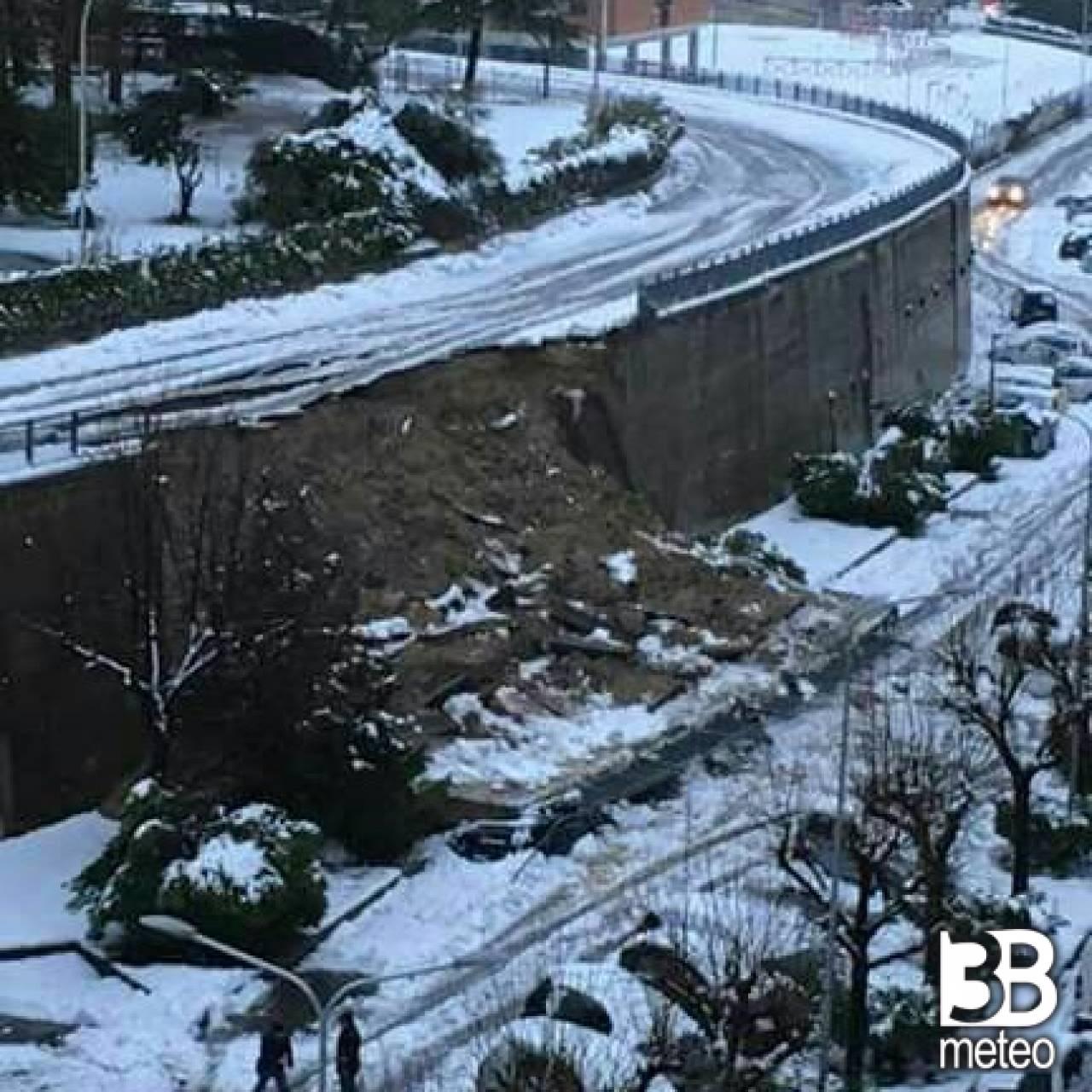 Foto Meteo: Strada Devastata Per Ascoli Piceno « 3B Meteo