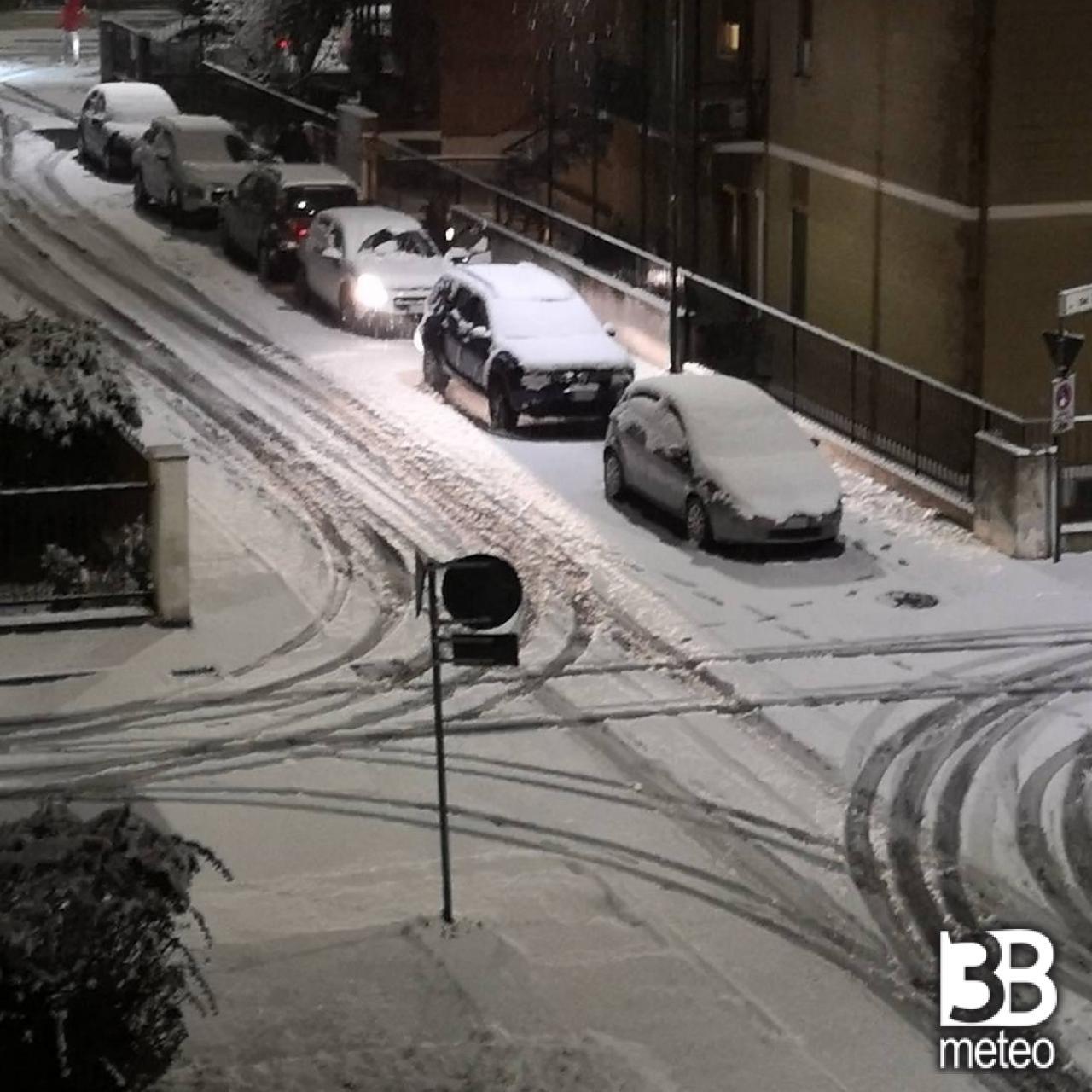 Prima nevicata a Cremona