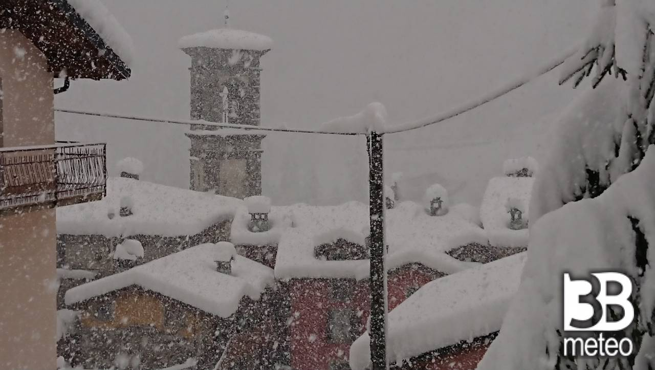 Nevicata 8 dicembre 2020