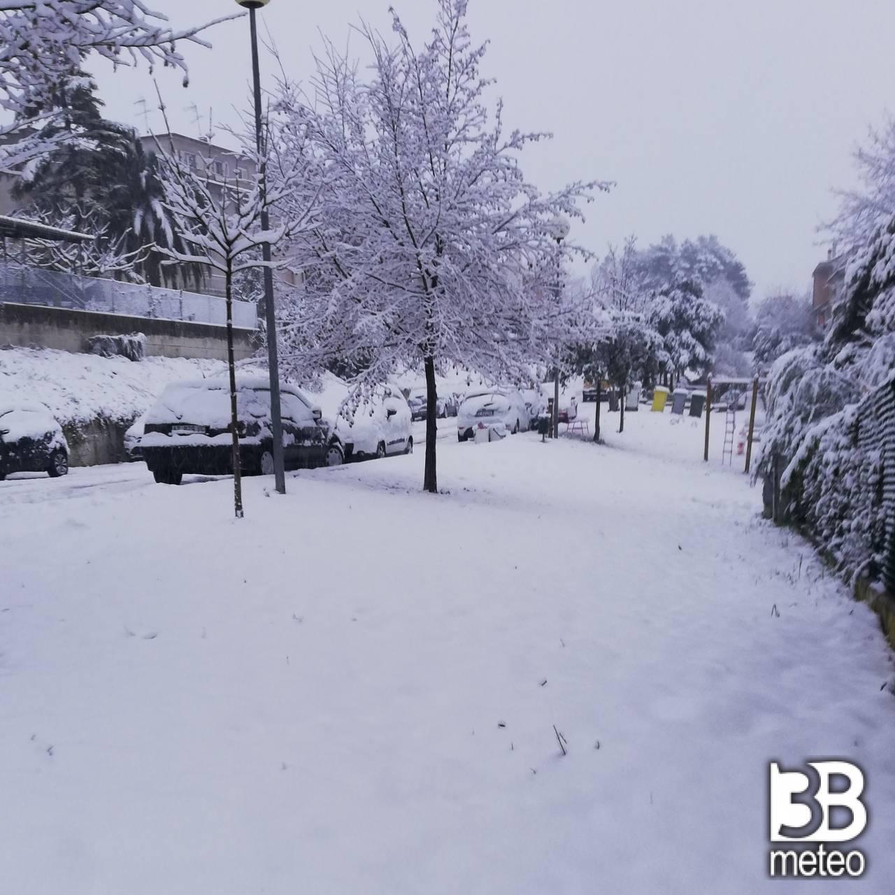 Neve a san marcello 13.02.21