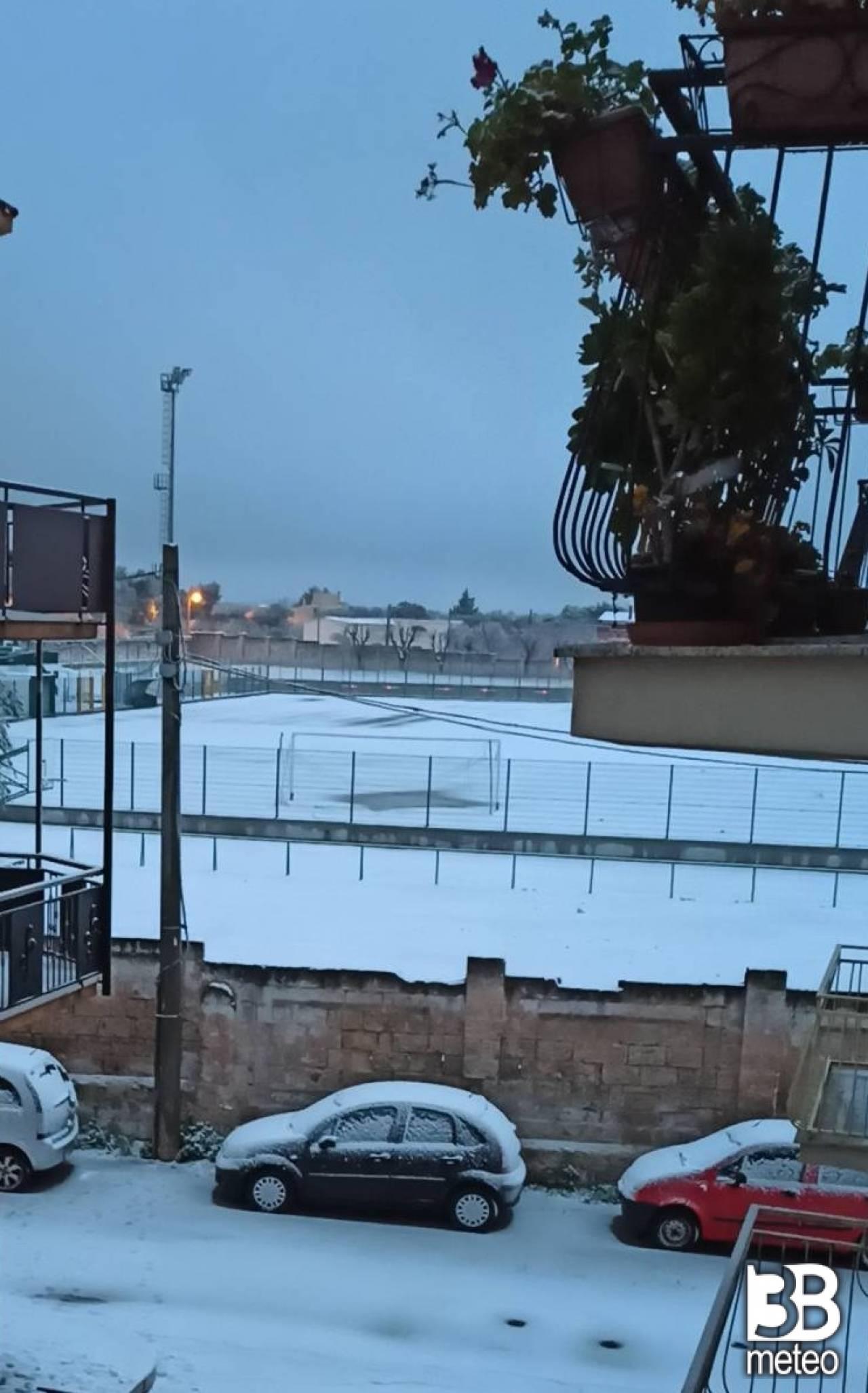 Neve a San Vito dei Normanni