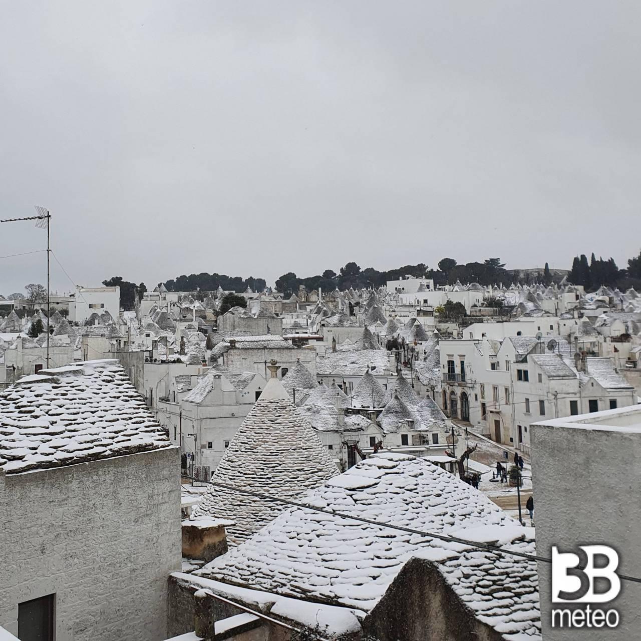 Neve ad Alberobello