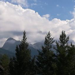 Nuvole a Bardonecchia