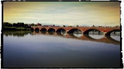 Ponte e Fiume Po