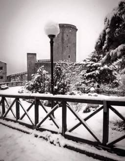 Neve alla Torre normanna 28012015