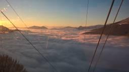 nuvole e monti