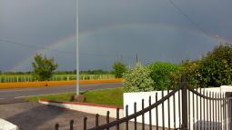 Arcobaleno a Lutrano