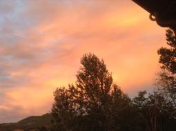 Nubi nel cielo di Nazzano