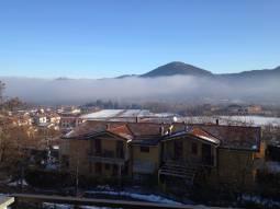 Nebbia sopra Salice Terme