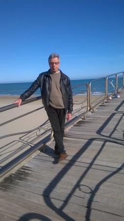 foto Domenico sul pontile