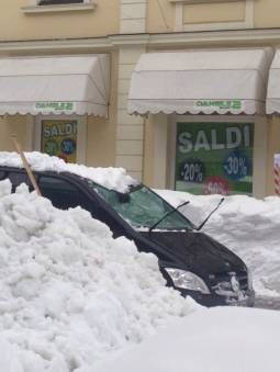 neve pesante tarvisio