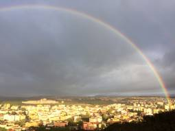 Arcobaleno completo a nuoro