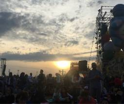 Tramonto al jova beach party 2019