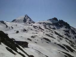 Si scia il 6 luglio 2013 al Passo del Monte Moro