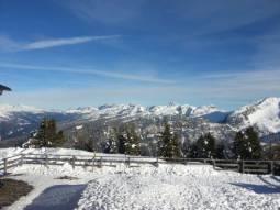 sole e neve