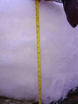 Nevicata 25 cm di neve in due giorni