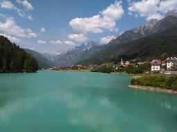 Lago di Auronzo mt 826