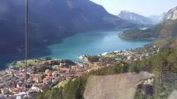 lago dall'alto