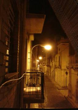 Niscemi by night