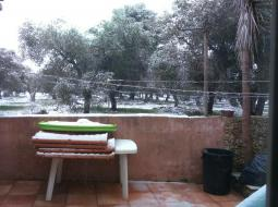neve anche a Tricase