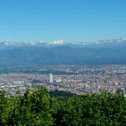 Turin viewed from Colle della Maddalena