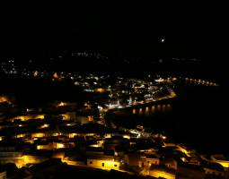 La marina by night