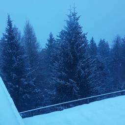 Neve leggera a marilleva 1400