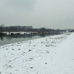 Neve parco nord milano