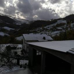 Neve a castel d'aiano