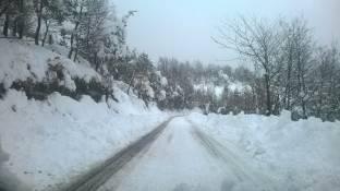 Meteo Lucca: domenica neve, poi bel tempo