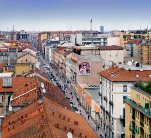 Viale Padova dall'alto