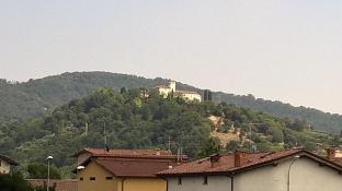 castello degli angeli visto da gorlago