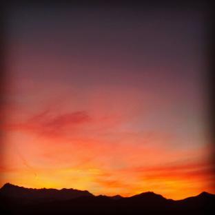 l'ultimo tramonto del 2016