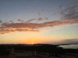 tramonto su Isola dei Gabbiani