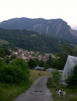 vista da localita Tizzomi