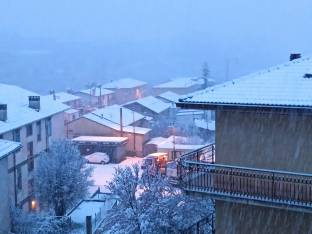 Neve a L'Aquila Marzo 2021
