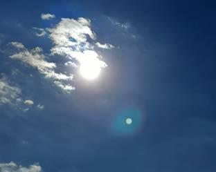Sole coperto